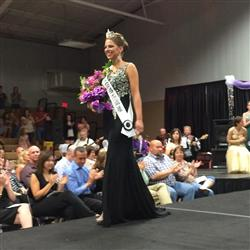 Miss Shelby Lamb, 2015 Fair Queen