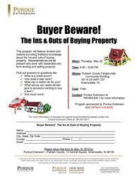 Buying Property Flyer