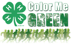Color Me Green 4-H Dash