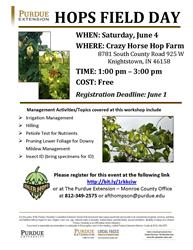 Hops Field Day Flyer