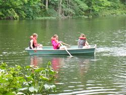Campers Boating