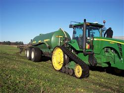 Manure application
