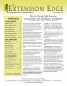 Extension Edge newsletter