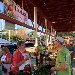 photo of people at a farmers market