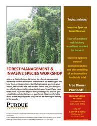 Forest Management & Invasive Species Workshop
