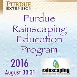 Rainscaping, Purdue Extension