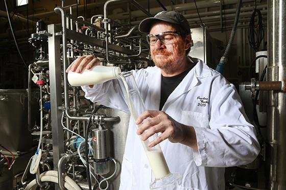 Bruce Applegate and other researchers developed a process that extends the shelf life of milk by wee
